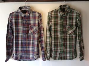 チェックシャツはいつの間にか売れている。